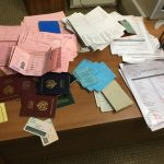 Réseau démantelé aux PA: 2 faussaires, 208 faux documents saisis et…