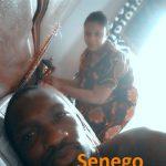 Demba Guissé en toute intimité avec sa femme