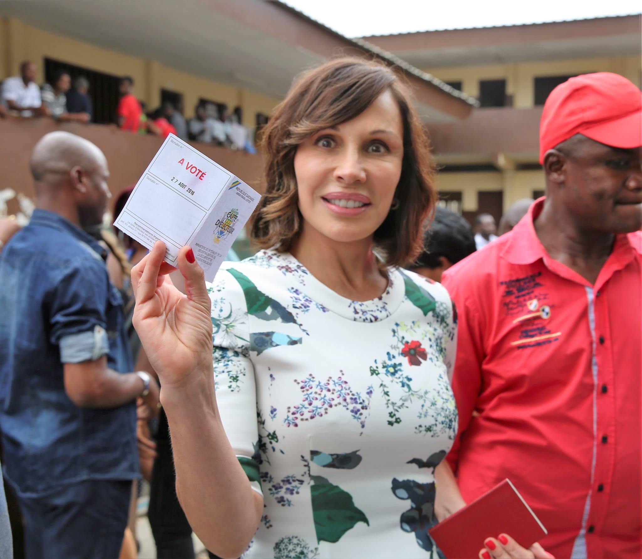 Le message de Sylvia Bongo Ondimba aux Gabonais, suite à la réélection contestée de son époux (Texte+photos)