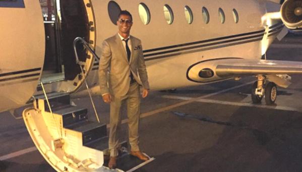 Crash du Jet de Cristiano Ronaldo � Barcelone : Plus de peur que de mal
