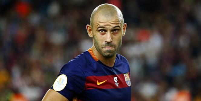 Liga espagnole mascherano avec le bar a jusqu 39 en 2019 - Coupe de la liga espagnol ...