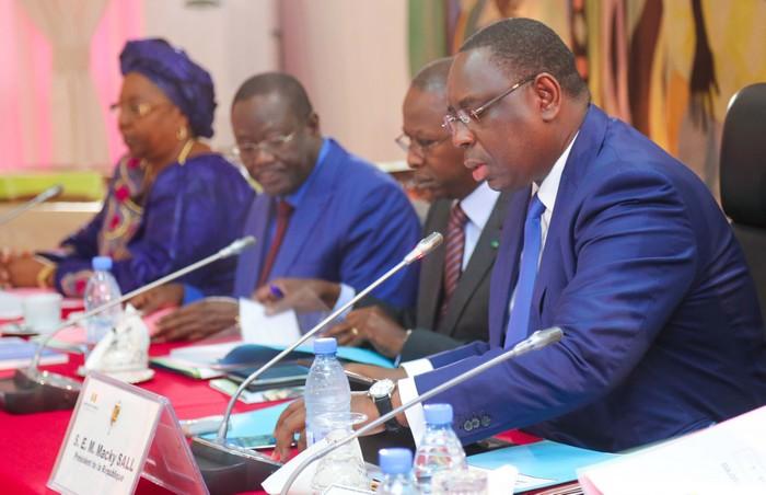 Communiqué, Conseil des ministres, Macky Sall