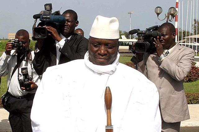 Guinée Equatoriale: Jammeh lâché par des proches