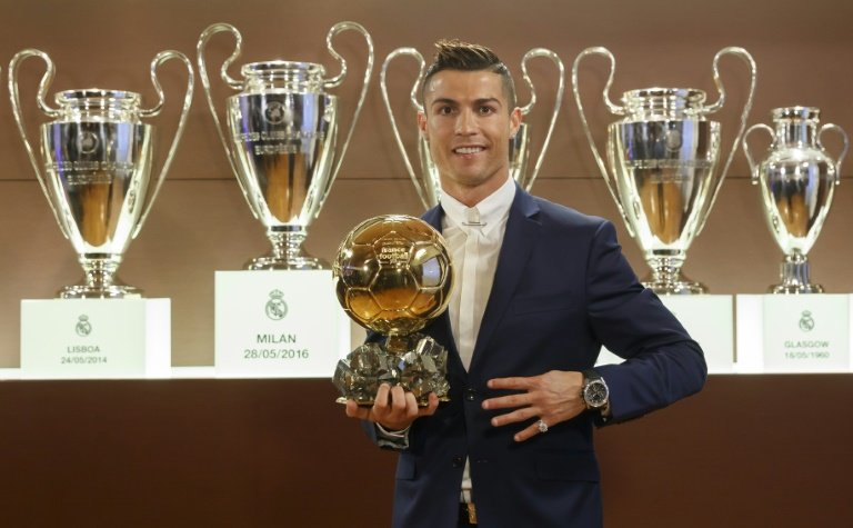 Cristiano Ronaldo, grand favori, a tué tout suspens — Ballon d'Or