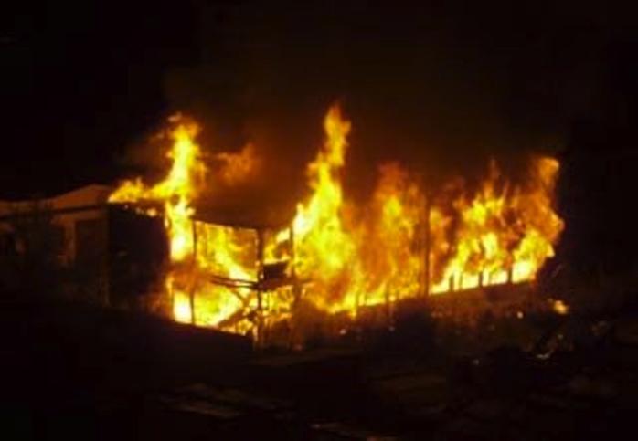 flllette morte, incendie Yeumbeul
