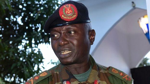 Chef d'état-major, cuba, gambie, Ousmane Badjie