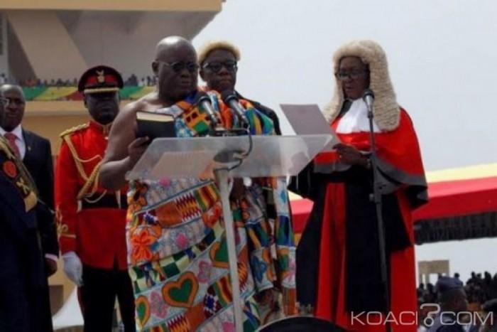 Ghana : Le président élu, Nana Akufo-Addo a prêté serment - Senego.com