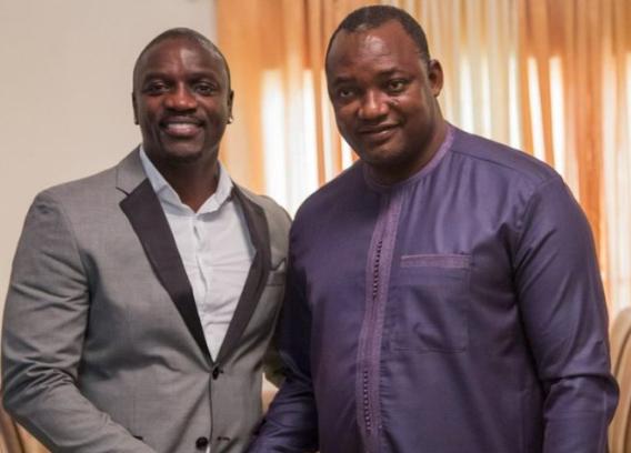 Programme d'électrification en Afrique, Akon arrive en Gambie
