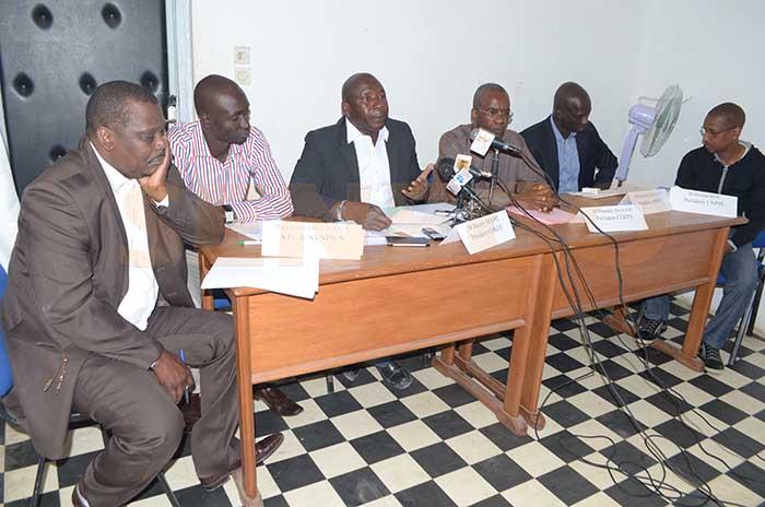 Le cri de coeur des journalistes poursauver la presse sénégalaise
