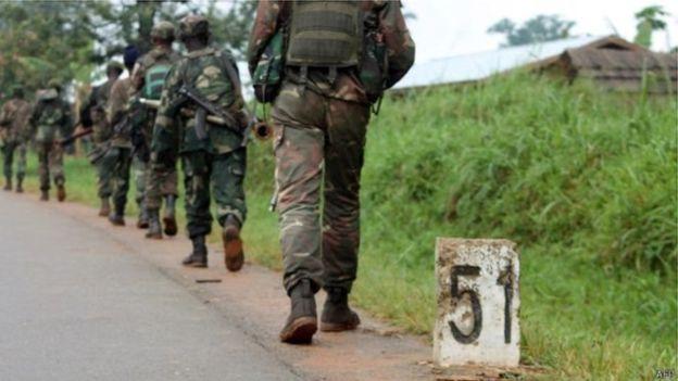 RDC : Sept militaires ont été arrêtés pour crimes de guerre