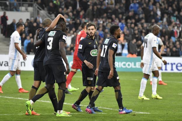 Coupe de france marseille craque encore devant monaco 4 3 a p - Marseille coupe de france ...