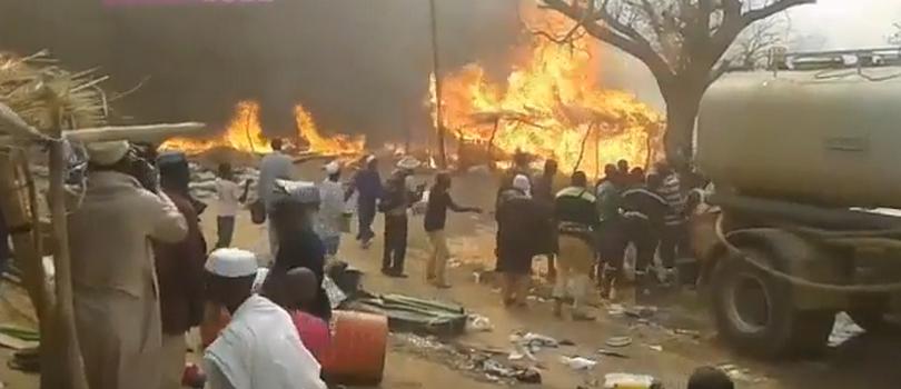 Incendie Daaka-Médina Gounass: les 4 présumés coupables placés sous mandat de dépôt