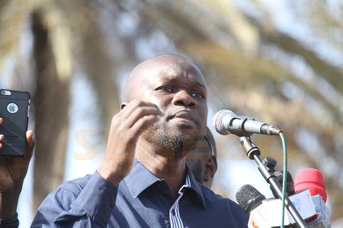 Ousmane Sonko, Université Gaston Berger