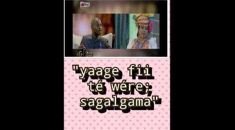 Vidéo – Dernier sms( Message) d'Adja Déguène Chimère à Pape Cheikh Diallo