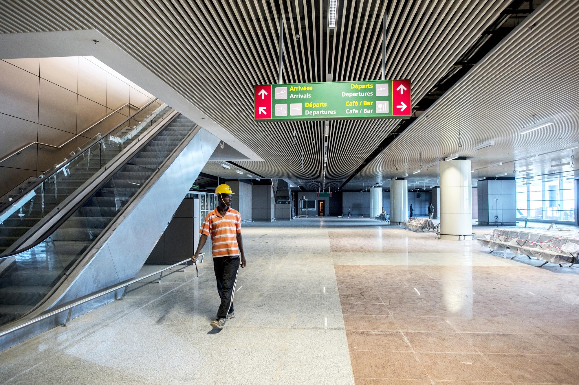 Le terminal fret de l'AIBD aura une capacité de 50 mille tonnes par an