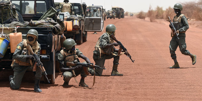 explosion, Mali, Mine, Trois soldats tués