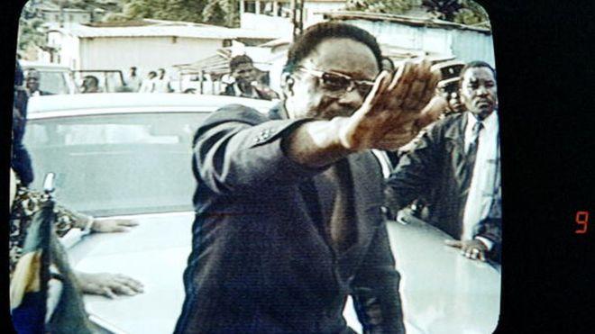 Gabon, présentatrice