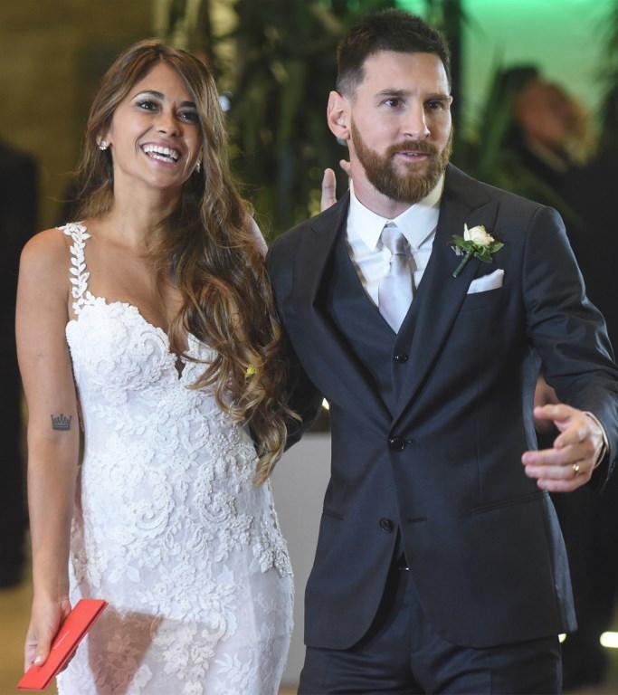 Shakira, Neymar, Gérard Piqué… Pluie de stars au mariage de Lionel Messi