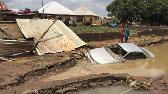 Inondations, Morts, Nigéria, pluies