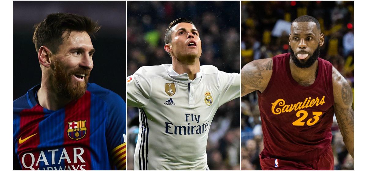Messi, monde, salaires, sportifs