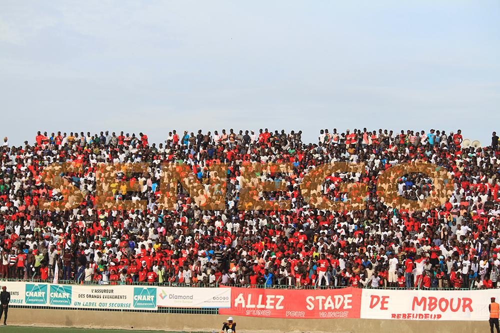 supporters stade de mbour