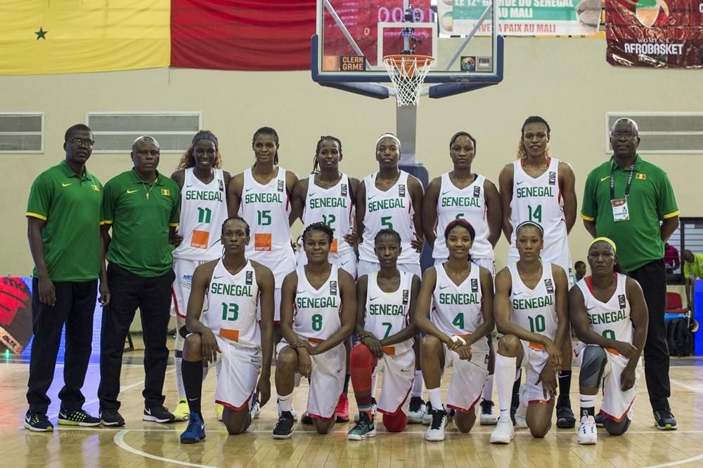 lionnes du sénégal afrobasket 2017