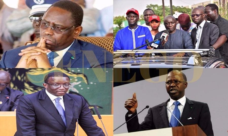 Macky Sall-Amadou Ba-Boun Abdallah Dionne- Mankoo Taxawu Sénégaal