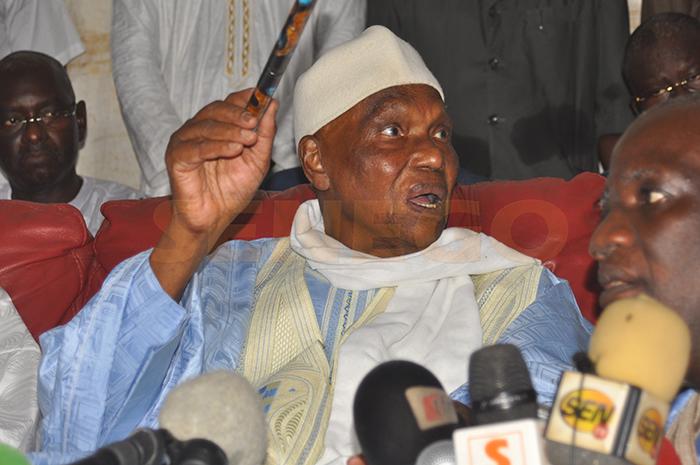 Abdoulaye Wade, candidature me madické niang, Karim Wade, Macky Sall, Pds