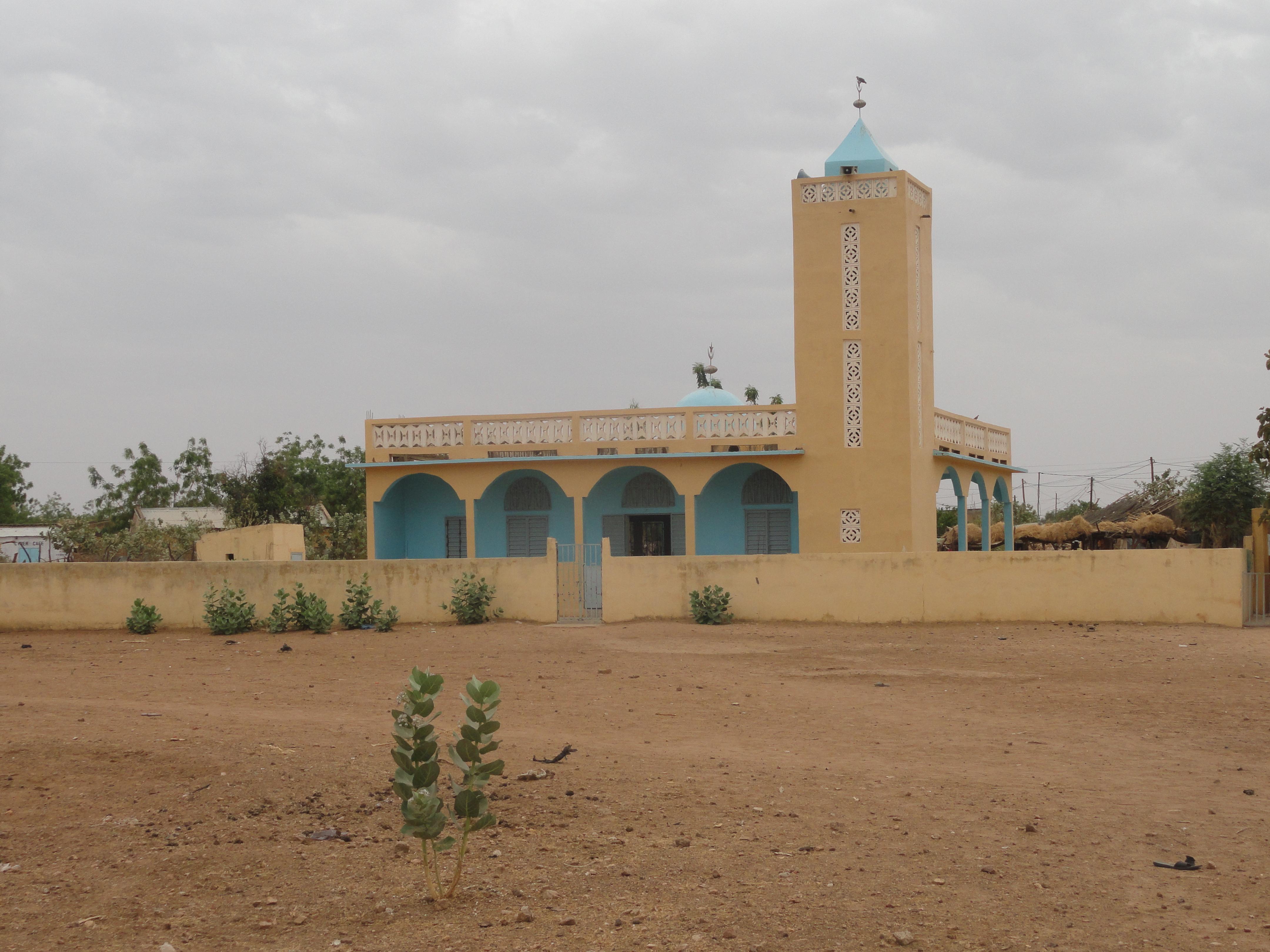 Mbour Sérère, Mosquée, population