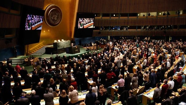 honteux et racistes, l'ONU, les propos de Trump, Pays de merde