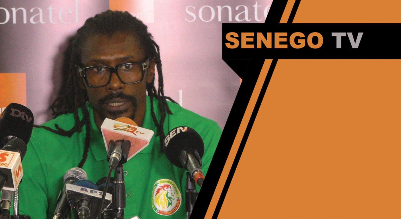 Aliou Cissé, liste 23 joueurs