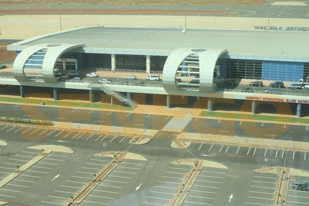 coût réel aéroport Blaise Diagne