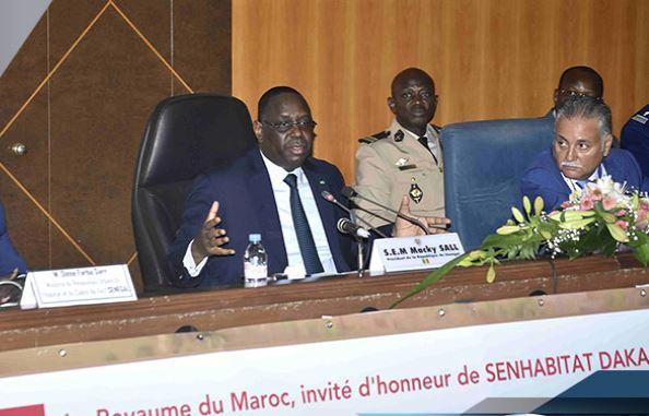 Macky Sall, SENHABITAT Dakar