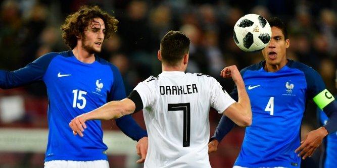 en amical, France vs Allemagne, Mondial 2018, Résumé