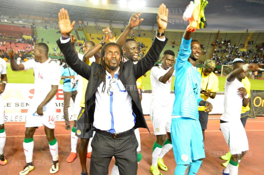 Afrique du Sud, Mondial 2018, Sénégal, Victoire