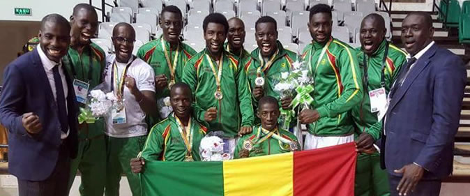 Championnats Mondiaux de Karaté, Sénégal; Sports
