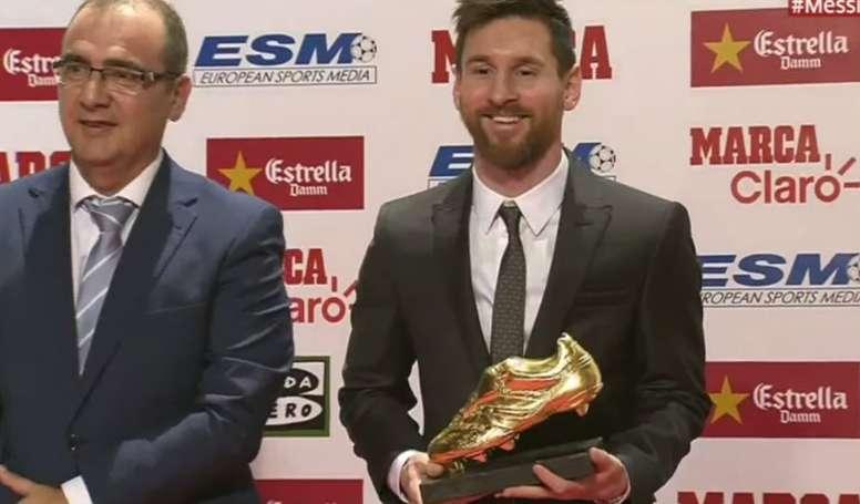 Liga, Lionel Messi, Soulier d'or