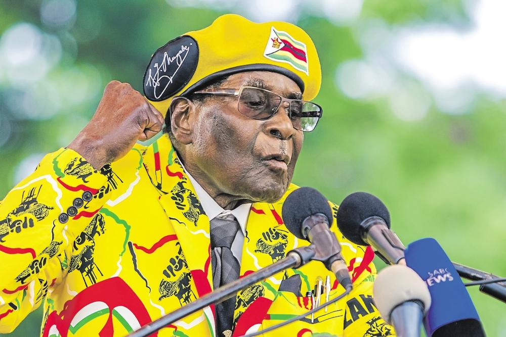 adresse à la nation, Robert Mugabe, Zimbabwe