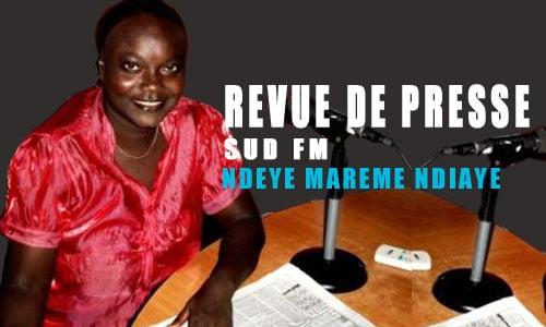 ndeye marème ndiaye, Revue de presse (Français) Sud fm du mardi 21 Novembre 2017