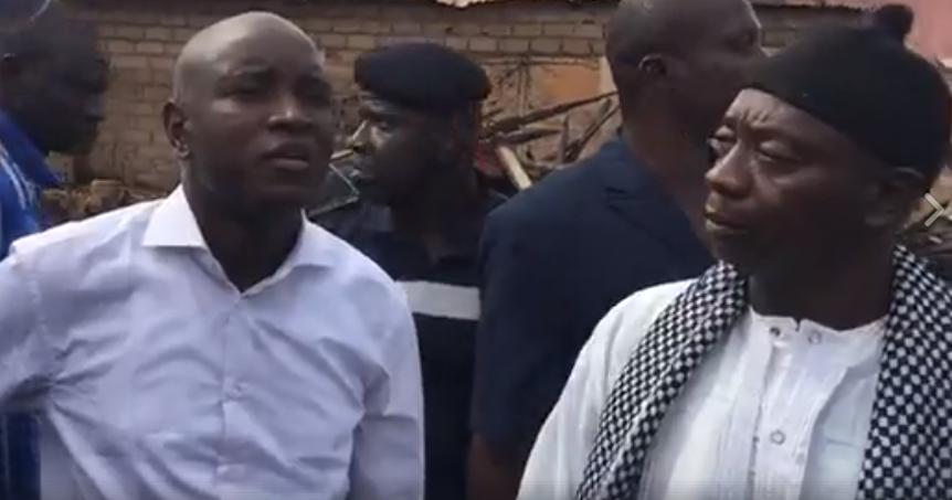 Aly Ngouille Ndiaye, délocaliser, Incendie au Paak Lambaye