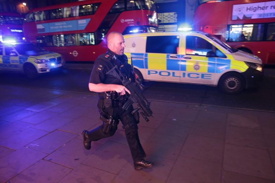 Attentat, Incident, Londres