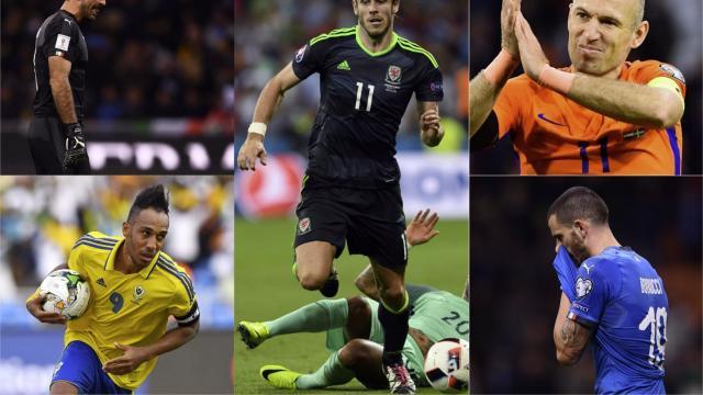 Foot mondial 2018 l 39 quipe type des joueurs absents de - Prochaine coupe du monde de foot 2018 ...