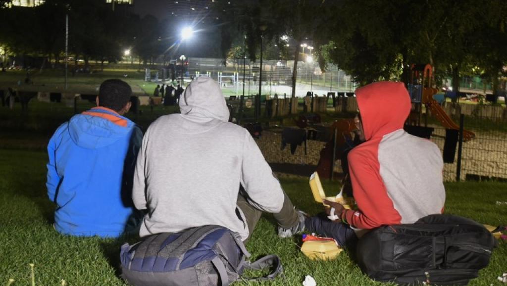 Bruxelles, migrants soudanais