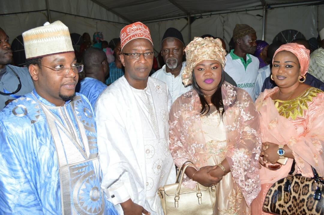 5 photos, Abdoul Mbaye, très célèbre Imam, vu au mariage