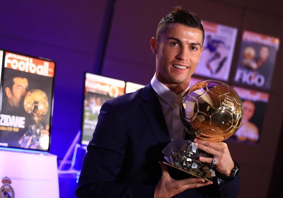 Ballon d'or, Cristiano Ronaldo, sacre