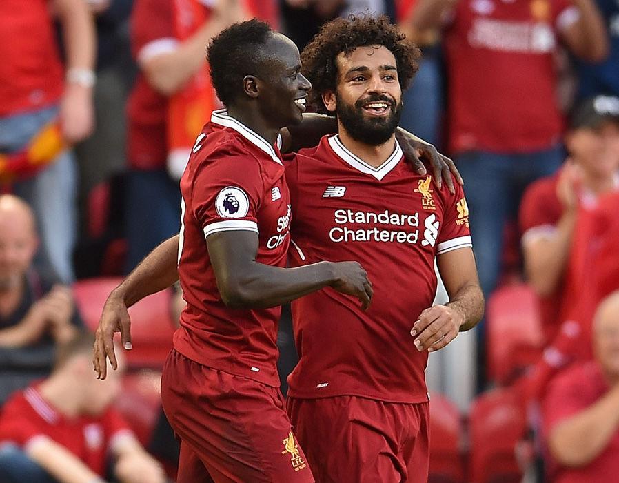 Liverpool, Mané, Mohamed Salah