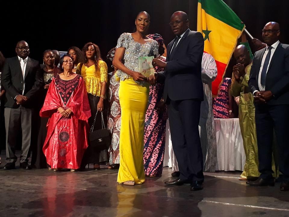 Astou Traoré, gala anps, Trophée