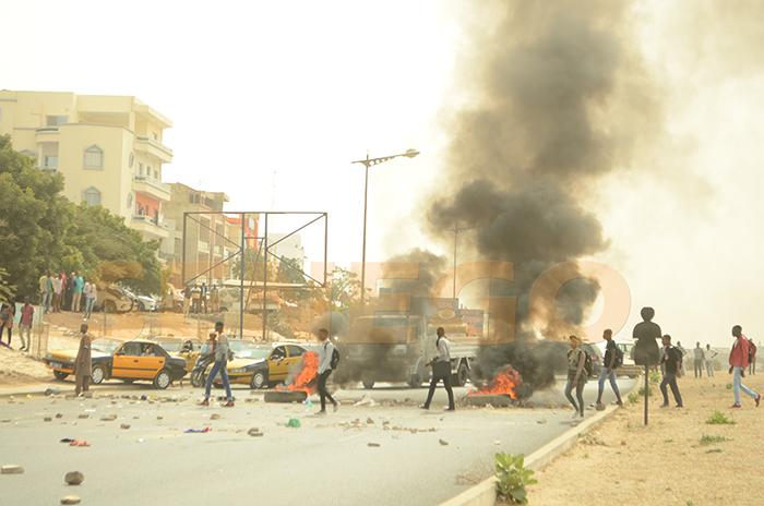 Etudiant, Grève, Université virtuelle du Sénégal, UVS, VDN