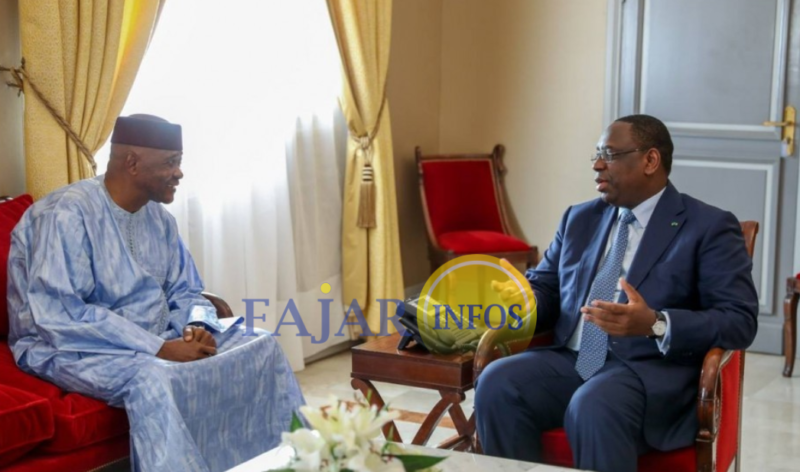a adressé, à Bamako, Au Sénégal, l'ancien président Malien A.T.T