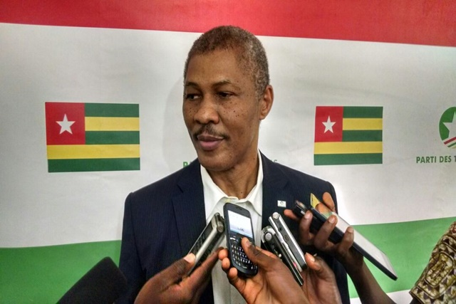Crise au Togo, interdiction, marche à dakar, Nathanaël Olympio